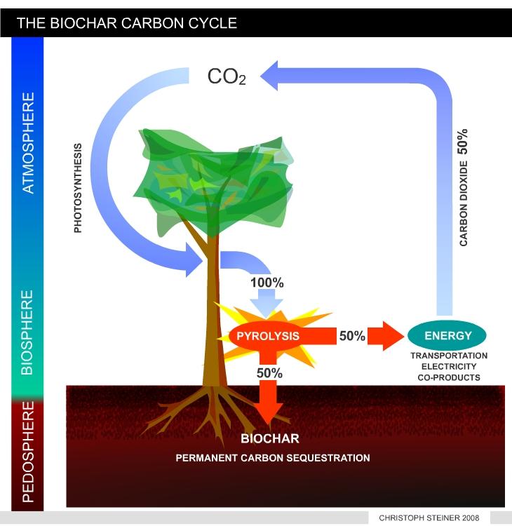 Biochar carbon sequestration introduction for 0 4 soil carbon